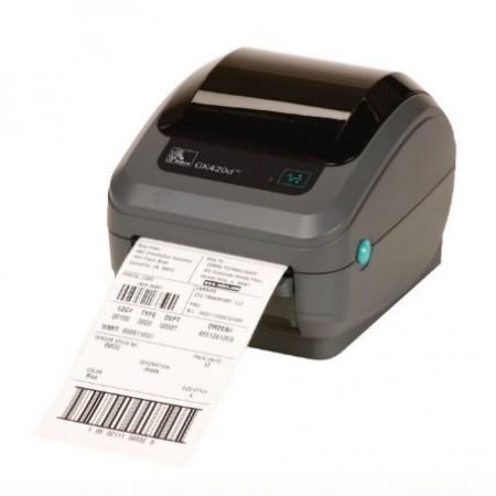 Zebra GK420d Desktop Printer, Direct Thermal, Serial, Parallel & USB Peel