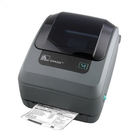 Zebra GK420t Desktop Printer, Thermal Transfer, USB & Ethernet