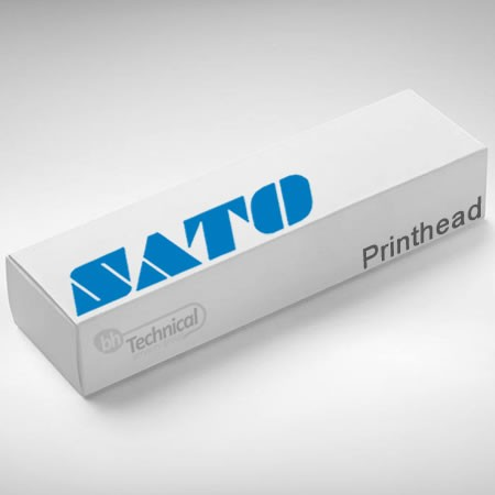 Sato Print Head (8 DPMM) XL400e LR840XRVe-2 part number G00012000