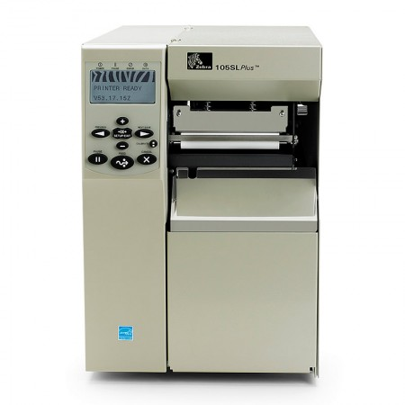 Zebra 105SL Plus Printer 8 dot/mm (203dpi), Rewind (includes peel)