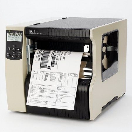 Zebra 220Xi4 Printer 8 dot/mm (203dpi) ZebraNet b/g Print Server