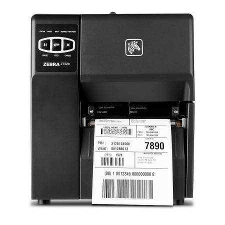 Zebra ZT220 Printer 12 dot/mm (300dpi), Direct Thermal, 10/100