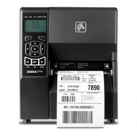 Zebra ZT230 Printer 8 dot/mm (203dpi), Thermal Transfer, Peel, Liner Take Up, 10/100
