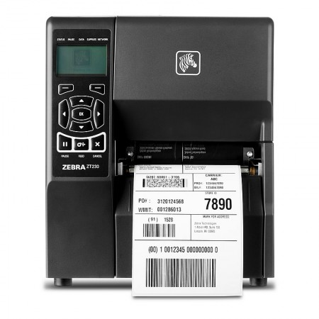 Zebra ZT230 Printer 12 dot/mm (300dpi), Direct Thermal, 10/100