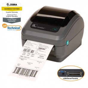 Zebra GK420d Printer, Direct Thermal, Serial, Parallel & USB