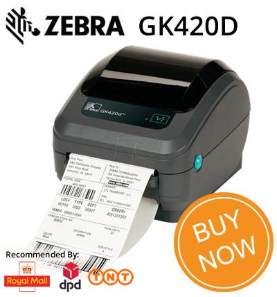 Zebra GK420D - Buy Online