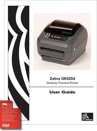 Zebra GK420D Manual
